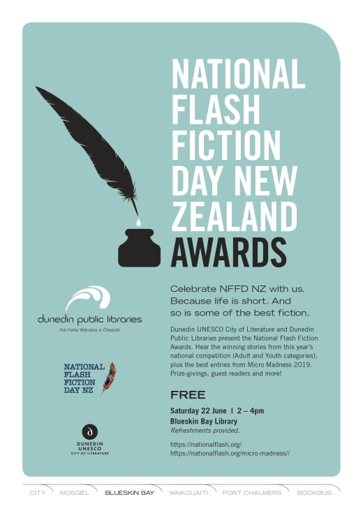 Dunedin National Flash Fiction Day 2019